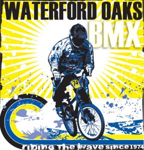 Logo for Waterford Oaks BMX