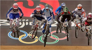BMX in its first Olympics 2008