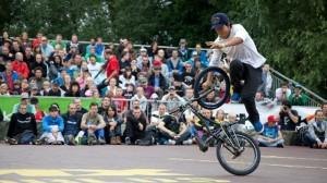 BMX Flatland riding