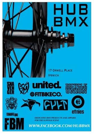 Hub BMX Poster